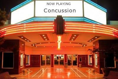 NFL concussion movie screening