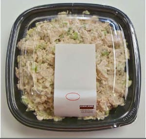 Salmonella chicken salad costco