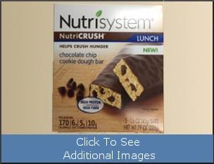 NutriSystem Chocolate Chip Cookie Dough Bar Listeria