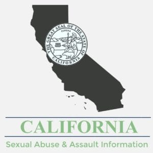 California Sexual Abuse Assault Information
