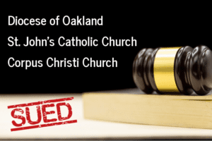 California Catholic Diocese Sued